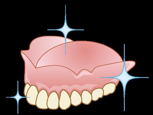 入れ歯にもメインテナンスは必要です